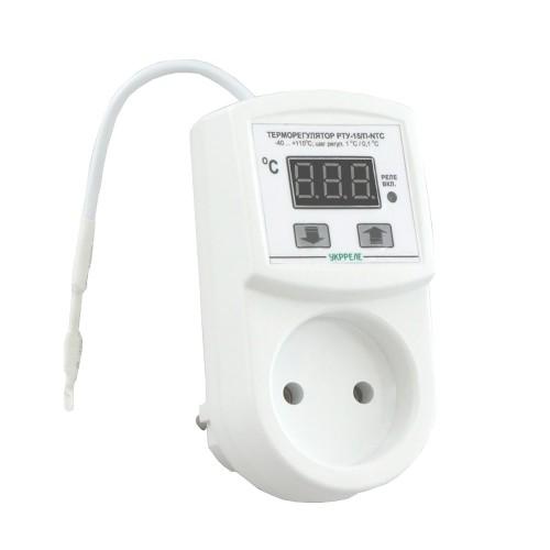 купити Терморегулятор в розетку (10А; NTC)