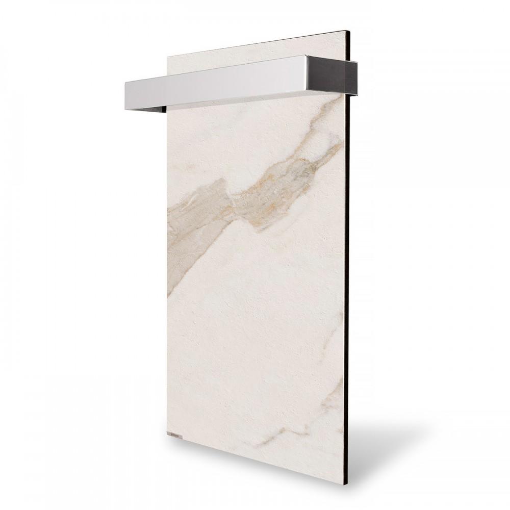 купить Электрический полотенцесушитель керамический Ceramic 250/220-Towel white marble (вертикальный)
