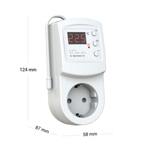 купить Терморегулятор terneo rz для инфракрасных панелей