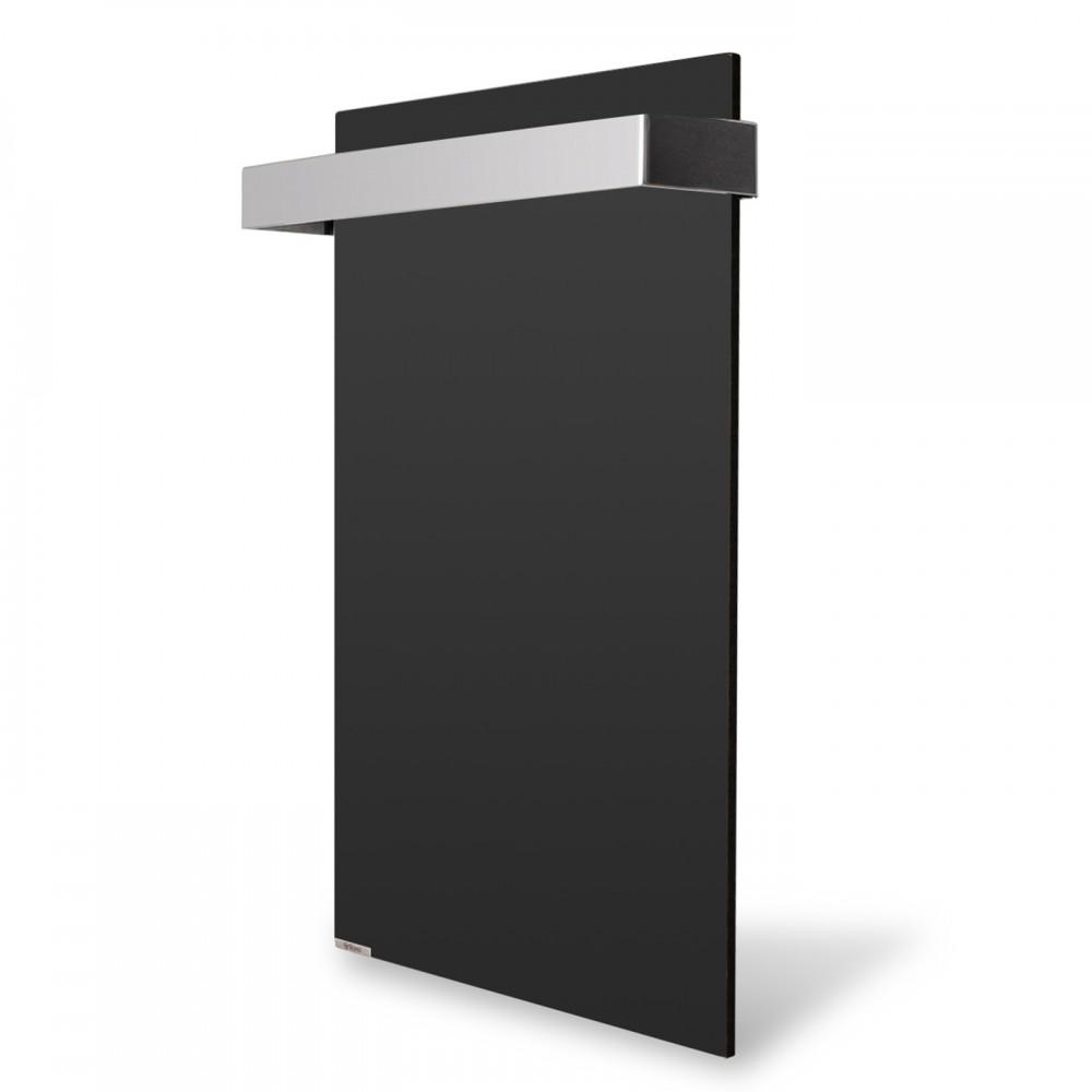 купити електричну рушникосушку v керамічну Ceramic 250/220-Towel black (вертикальна)