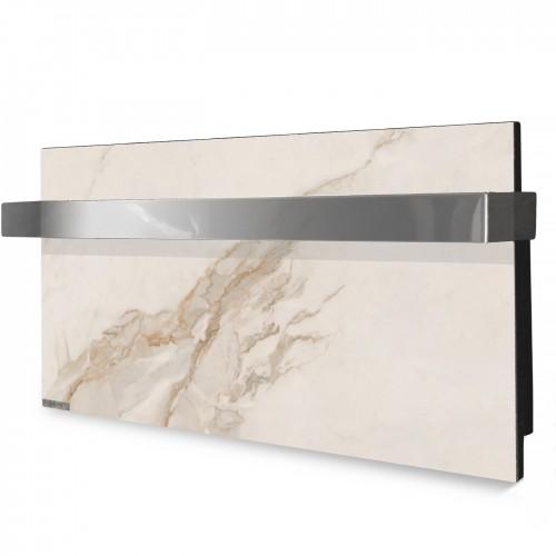 купить Электрический полотенцесушитель 0,25 кВт керамический Ceramic 250/220-Towel white marble (горизонтальный)