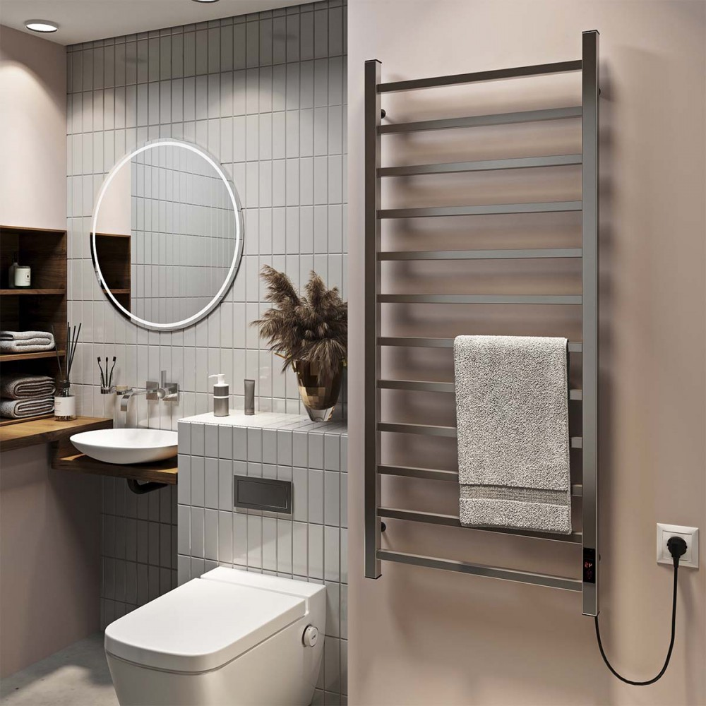 купить электрический полотенцесушитель Forest П12 500х1200 Э правое подключение
