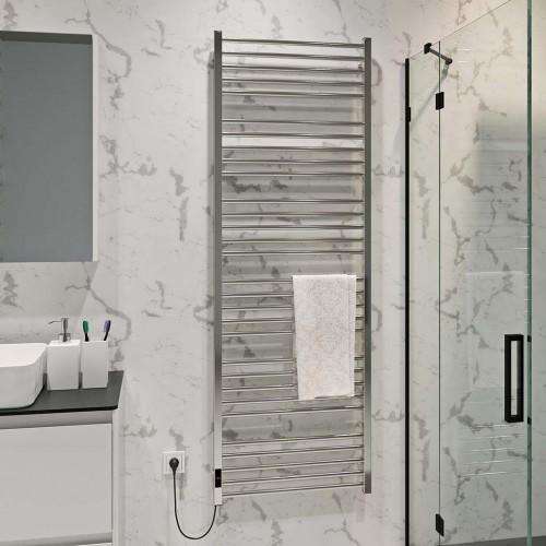 купить электрический полотенцесушитель Lima П30 600х1800 Э левое подключение