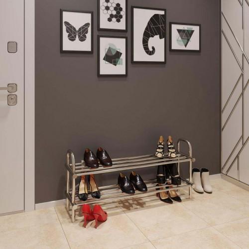 купить электрический полотенцесушитель Полка для обуви 250x650