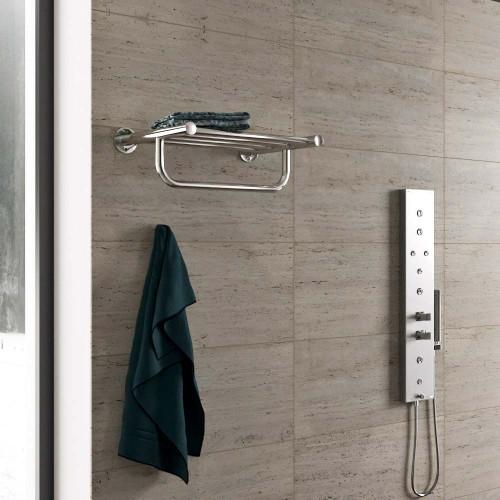 Рушникосушка електрична Полиця для рушників Deffi Астра
