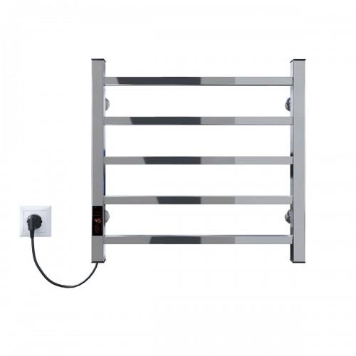 купить электрический полотенцесушитель Forest П5 500x500 Э левое подключение