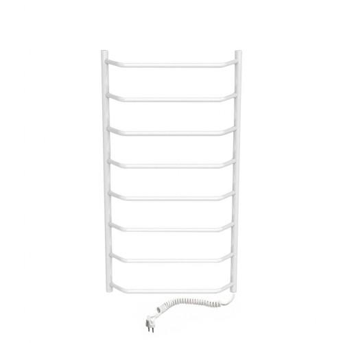 купить электрический полотенцесушитель Трапеция П8 500x800 ЧФ правое подключение (белый)