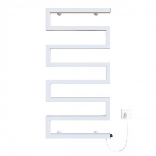 купить электрический полотенцесушитель Zeta 500х945 Э правое подключение (белый)
