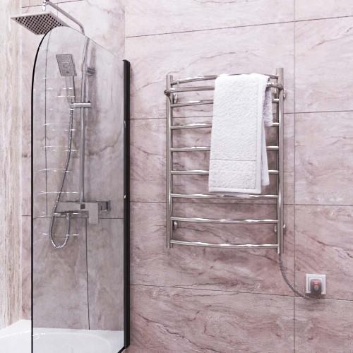 купить электрический полотенцесушитель Классик N П7 500х700 Э правое подключение