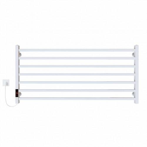 купить электрический полотенцесушитель Level П7 1000х500 Э левое подключение (белый)