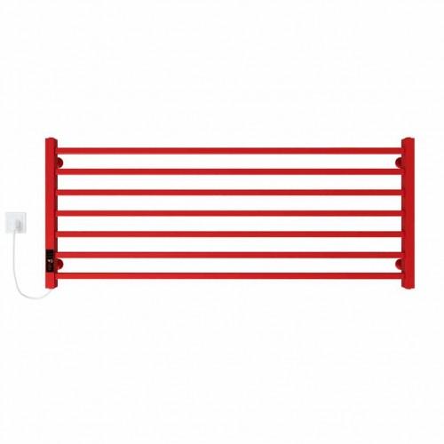купить электрический полотенцесушитель Level П7 1200х500 Э левое подключение (красный)