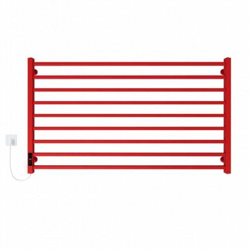купить электрический полотенцесушитель Level П9 1000х700 Э левое подключение (красный)