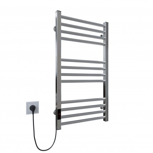 купить электрический полотенцесушитель Lima П12 400х800 Э левое подключение