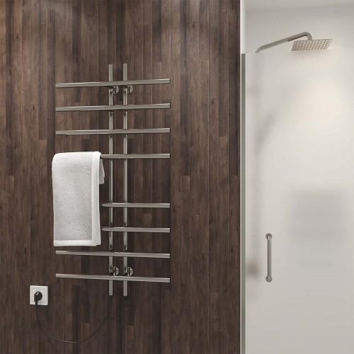 купить электрический полотенцесушитель Gray П8 60х1000 Э левое подключение