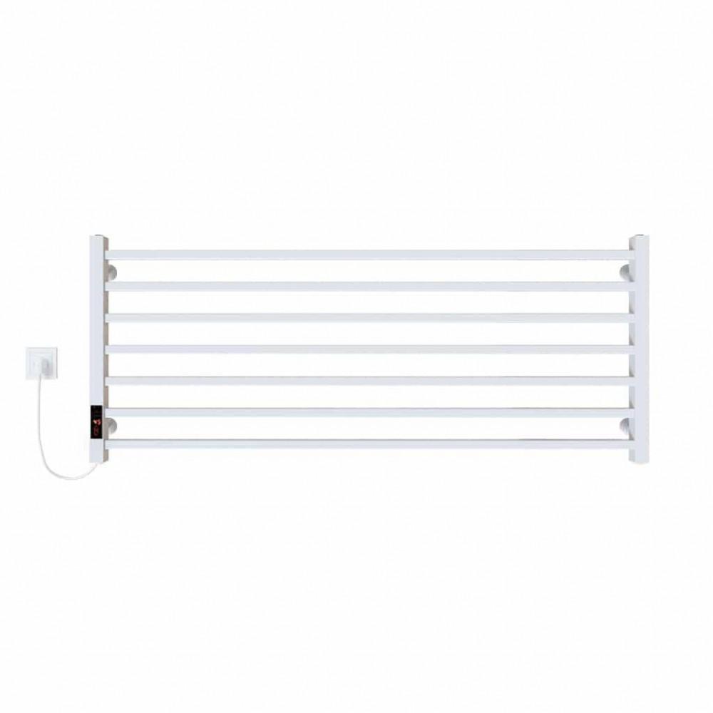 купить электрический полотенцесушитель Level П7 1200х500 Э левое подключение (белый)