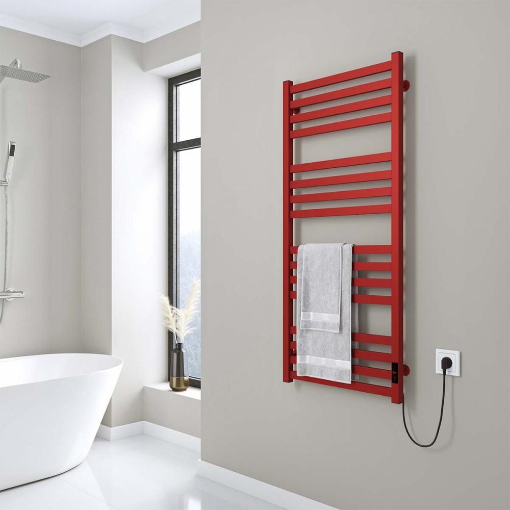 купить электрический полотенцесушитель Magnus П16 500х1200 Э правое подключение (красный)