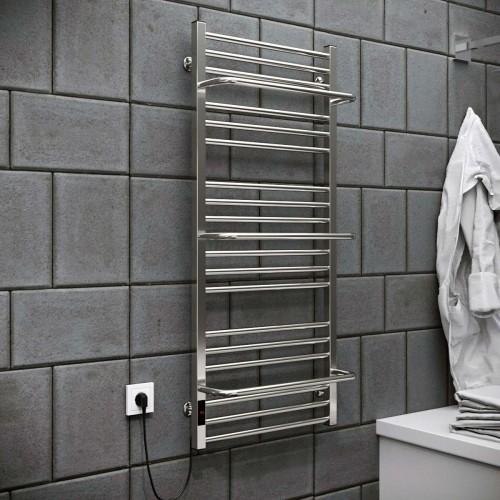 купить электрический полотенцесушитель Sigma 500х1200 Э левое подключение