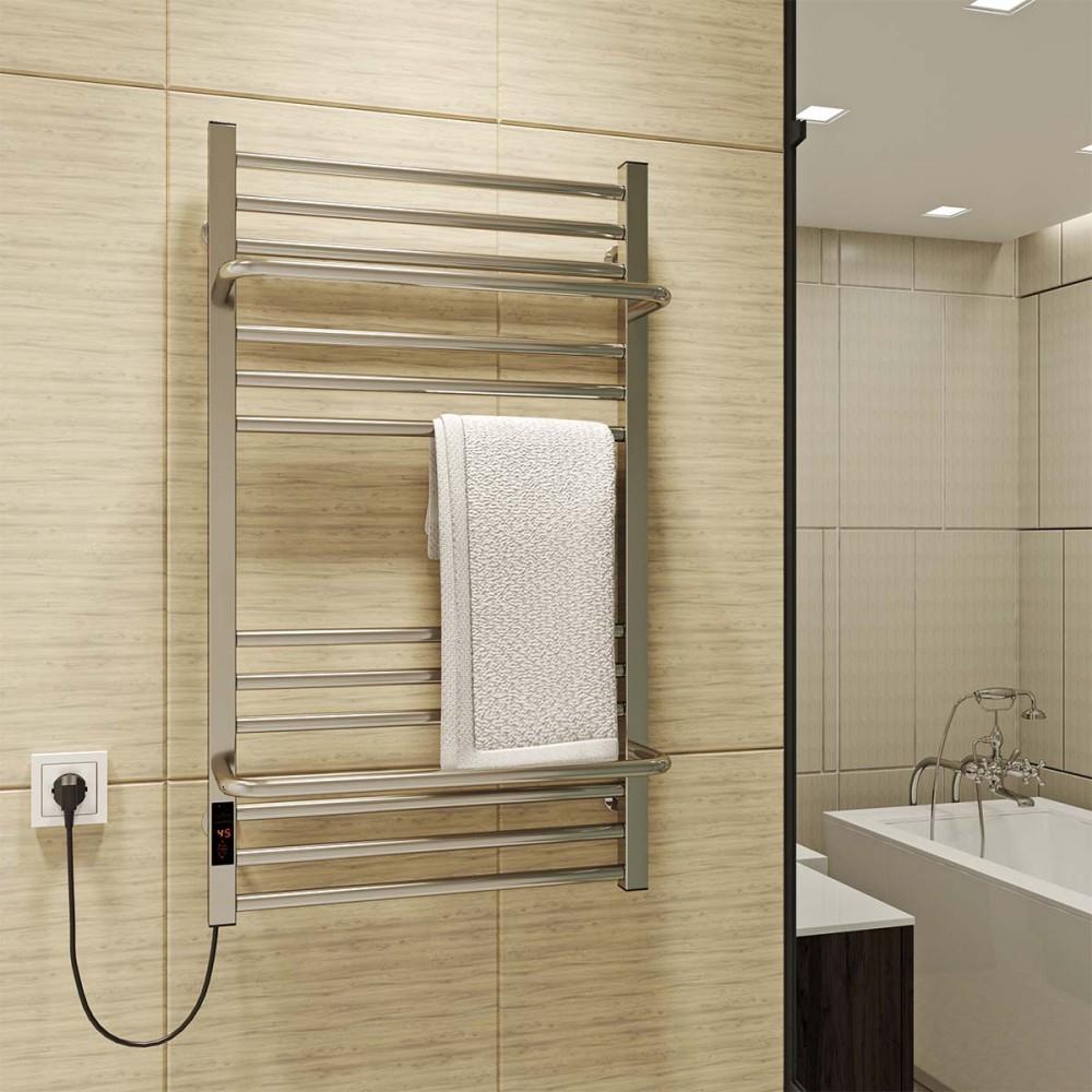 купить электрический полотенцесушитель Sigma 500х900 Э левое подключение