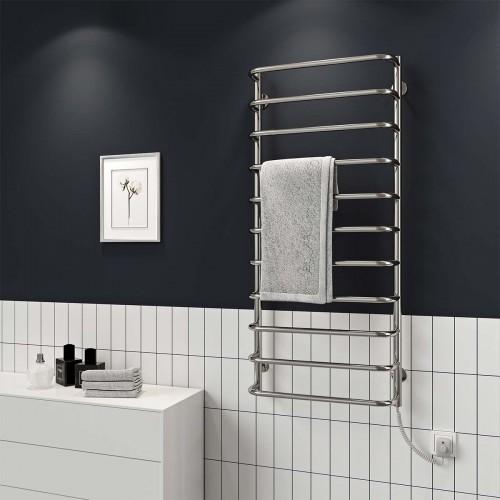 купить электрический полотенцесушитель Стандарт П10 500x1200 Э правое подключение