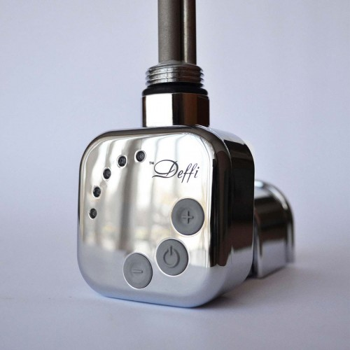 купить электрический полотенцесушитель ТЭН Deffi 600 Вт хром (скрытое подключение)
