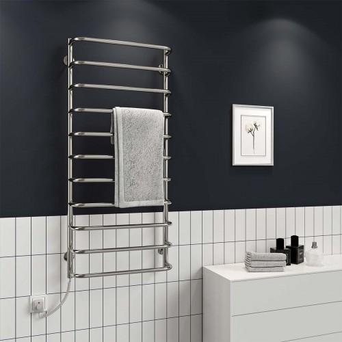 купить электрический полотенцесушитель Стандарт П10 500x1200 Э левое подключение