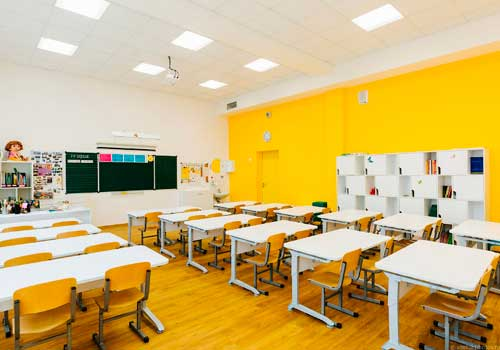 Применение инфракрасных обогревателей в школах