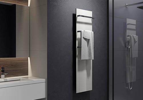 Электрический (керамический) полотенцесушитель: преимущества и особенности