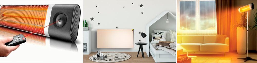 Инфракрасный обогреватель для квартиры и дома